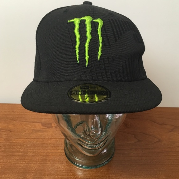 New Era Monster Energy Drink Billabong Fitted Cap.  M 5a7416ec61ca100f8bc78176 4a9b242af7a8